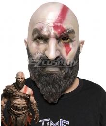 God of War 4 Kratos Halloween Mask Cosplay Accessory Prop