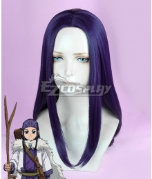 Golden Kamuy Asirpa Purple Cosplay Wig