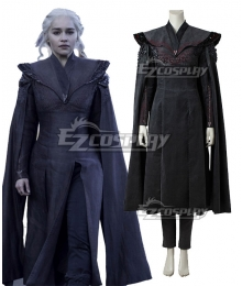 Game of Thrones Season 7 Daenerys Targaryen Cosplay Costume - B Edition