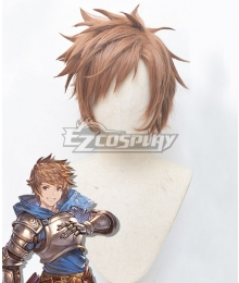 Granblue Fantasy Gran Brown Cosplay Wig