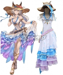 Granblue Fantasy Zooey Swimsuit Summer Cosplay Costume