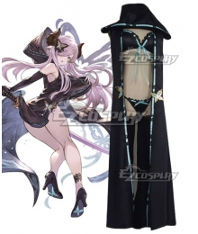 Granblue Fantasy Narmaya Black Swimsuit Cosplay Costume