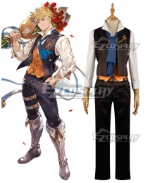 Granblue Fantasy The Dragon Knights Vane Cosplay Costume