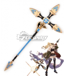 Granblue Fantasy Zeta Spear Cosplay Weapon Prop
