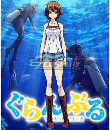 Grand Blue Chisa Kotegawa Cosplay Costume
