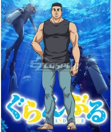 Grand Blue Shinji Tokita Cosplay Costume