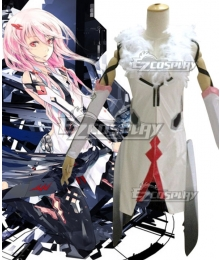 Guilty Crown Inori Yuzuriha White Battle Suit Cosplay Costume