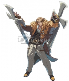 Guilty Gear STRIVE Leo Whitefang Cosplay Costume