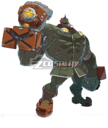 Guilty Gear STRIVE Potemkin Cosplay Costume