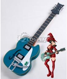 Guilty Gear Xrd I-No Guitar Cosplay Weapon Prop