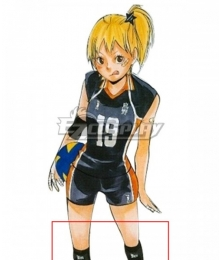 Haikyu!! Haikyuu!! Karasuno High School Hitoka Yachi Kneepad Cosplay Accessory Prop