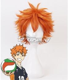 Haikyu!! Hinata Shyouyou Shoyo Hinata Orange Cosplay Wig