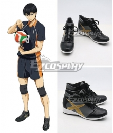 Haikyu!! Tobio Kageyama Black Cosplay Shoes