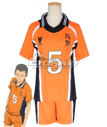 Haikyuu!! Season 4 Haikyuu!!: To the Top Ryuunosuke TANAKA Ryūnosuke Tanaka New Uniform Cosplay Costume