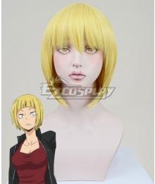 Haikyuu!! Saeko Tanaka Golden Cosplay Wig