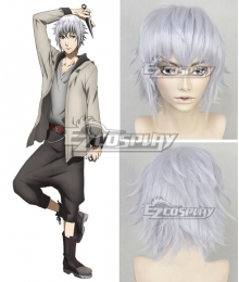 Hakata Tonkotsu Ramens Shunsuke Saruwatari Silver white Cosplay Wig