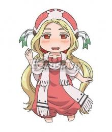 Hakumei and Mikochi Hakumei to Mikochi Konju Cosplay Costume