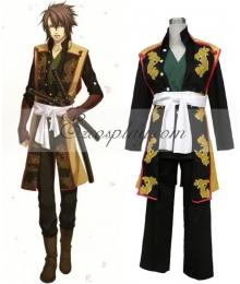 Hakuouki Shinsengumi Kitan Soji Okita Cosplay Costume