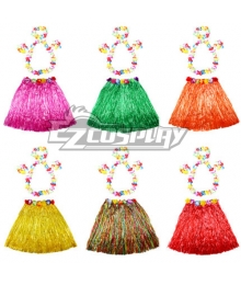 Halloween HawaiiHula Skirt 60cm Cosplay Costume