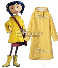 Halloween Coraline 2009 Movie Coat Cosplay Costume