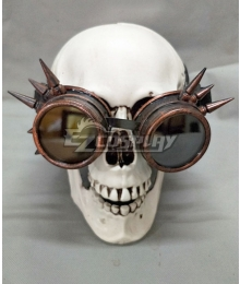 Halloween Steampunk Glasses Cosplay Accessory Prop