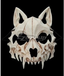 Halloween Teeth Yasha Mask C Cosplay Accessory Prop