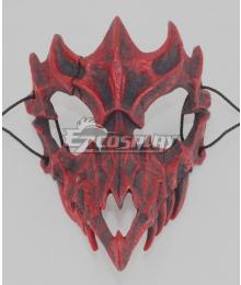 Halloween Teeth Yasha Mask H Cosplay Accessory Prop