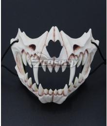 Halloween Teeth Yasha Mask J Cosplay Accessory Prop