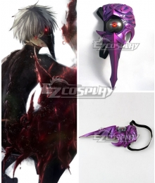 Halloween Tokyo Ghoul Ken Kaneki Centipede Light Mask Cosplay Accessory Prop