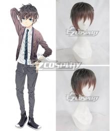 Hand Shakers Tazuna Takatsuki Brown Cosplay Wig