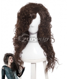 Harry Potter Bellatrix Lestrange Brown Cosplay Wig