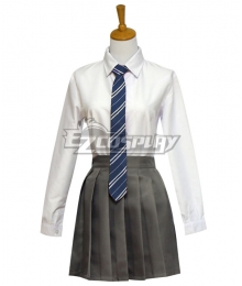 Harry Potter Female Ravenclaw Robe School Uniform Halloween Cosplay Costume - Starter Edition