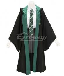 Harry Potter Female Slytherin Robe School Uniform Halloween Cosplay Costume