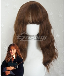 Harry Potter Hermione Jane Granger Hermione Jean Granger Brown New Edition Cosplay Wig