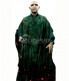 Harry Potter Lord Voldemort Green Cosplay Costume