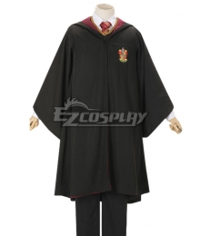 Harry Potter Male Gryffindor Robe School Uniform Halloween Cosplay Costume