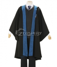 Harry Potter Male Ravenclaw Robe School Uniform Halloween Cosplay Costume