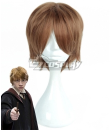 Harry Potter Ronald Billius Weasley Brown Cosplay Wig