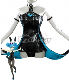 Vocaloid Hatsune Miku Black Bunny Girl Black Rabbit Cosplay Costume - Not included Wig