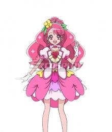 Healin' Good Pretty Cure Hanadera Nodoka Cure Grace Pink Cosplay Wig
