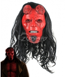 Hellboy: Rise of the Blood Queen Hellboy Anung Un Rama Mask Cosplay Accessory Prop