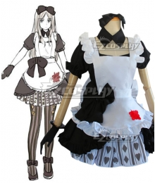 Hetalia APH  Republic of Belarus Natalya Natasha Arlovskaya Halloween Maid Cosplay Costume