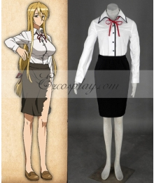 High School of the Dead Marikawa Shizuka Cosplay Costume