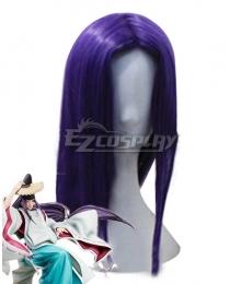 Hikaru no Go Fujiwara no Sai Purple Cosplay Wig
