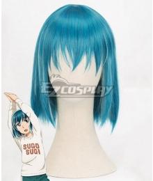 Hinamatsuri Hina Blue Cosplay Wig