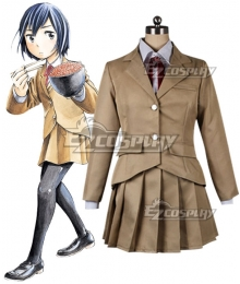 Hinamatsuri Hina Hitomi Mishima School Uniform Cosplay Costume