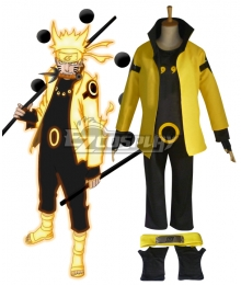 Naruto Six Paths Sage Mode Cosplay Shoes