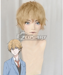 Hitorijime My Hero Asaya Hasekura Golden Cosplay Wig