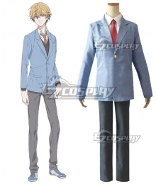 Hitorijime My Hero Asaya Hasekura Suit Cosplay Costume