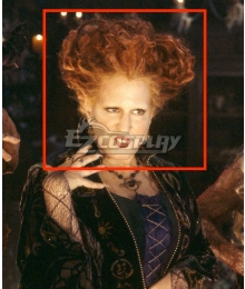 Hocus Pocus Winifred Sanderson  Ginger Red Cosplay Wig